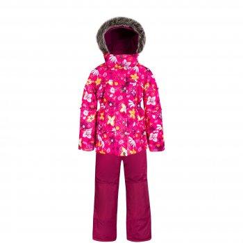 Комплект Gusti Zingaro (розовый с цветочным орнаментом)Комбинезоны<br>Материал: <br>Верх: 100% полиэстер<br>Утеплитель:  куртка - 226 грамм, полукомбинезон - 170 грамм (тонковолокнистый полиэстеровый утеплитель teck polifill)<br>Подкладка: polar флис (100% полиэстер)<br>Водонепроницаемость: 2000 мм<br>Паропроводимость: 2000 г/м2/24 часа<br>Износостойкость: нет данных<br>Описание: <br>Функциональные элементы: Куртка: капюшон отстегивается с помощью молнии, мех не отстегивается, защитная планка молнии на липучке, защита подбородка от защемления, карманы на липучке, трикотажные манжеты, снежная юбка, светоотражающие элементы. Брюки: регулируемые лямки, пояс на резинке, карманы на липучке, подол штанин регулируется липучкой, снежные гетры, вставки из материала повышенной прочности.<br>Производитель: Gusti (Канада)<br>Страна производства: Китай <br>Модель производится в размерах: 12 месяцев-14 лет <br>Коллекция: Осень/Зима 2017<br>Температурный режим: <br>От 0 до -30 градусов; Размеры в наличии: 2, 3, 4, 5, 6, 7, 8, 18М.<br>