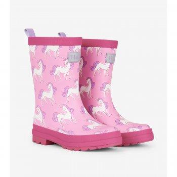 Hatley Сапоги резиновые (бледно-розовый с единорогами) hatley сапоги резиновые белый с сердцами