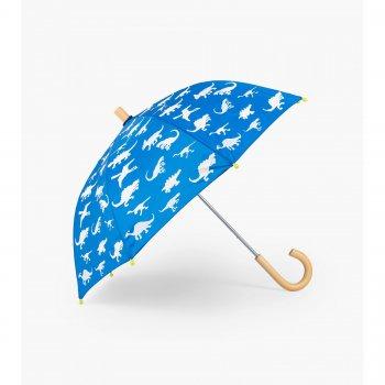 Зонт (синий с динозаврами)Одежда<br>Производитель: Hatley (Канада)<br> Страна производства: Китай <br> Коллекция: Весна/Лето 2018<br><br> Температурный режим ; Размеры в наличии: б/р.<br>