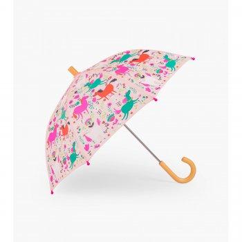 Зонт (розовый с лошадками)Одежда<br>Описание: <br><br>Характеристики: <br>Производитель: Hatley (Канада)<br>Страна производства: Китай <br>Коллекция: Весна/Лето 2018<br>Температурный режим: ; Размеры в наличии: б/р.<br>