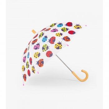 Зонт (белый с божьими коровками)Одежда<br>Описание: <br><br>Характеристики: <br>Производитель: Hatley (Канада)<br>Страна производства: Китай <br>Коллекция: Весна/Лето 2018<br>Температурный режим: ; Размеры в наличии: б/р.<br>