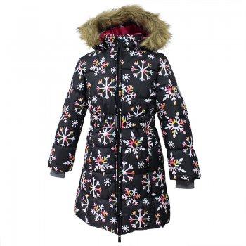 Пальто YACARANDA (черный со снежинками) от Huppa, арт: 44769 - Одежда