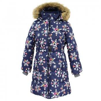 Пальто YACARANDA (синий со снежинками)Куртки<br>; Размеры в наличии: 110, 116, 122, 128, 134, 140, 146, 152, 158, 164, 170.<br>
