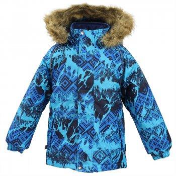 Куртка MARINEL (голубой с принтом)Куртки<br>; Размеры в наличии: 98, 104, 110, 116, 122, 128, 134, 140.<br>