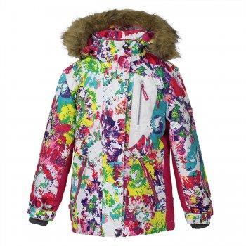 Куртка SKYLAR (белый с ярким принтом) от Huppa, арт: 35860