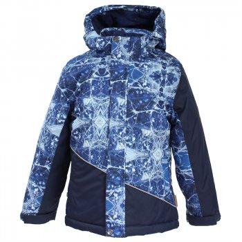 Куртка ALEX (синий с принтом)Куртки<br>; Размеры в наличии: 146, 152, 158, 164, 170.<br>