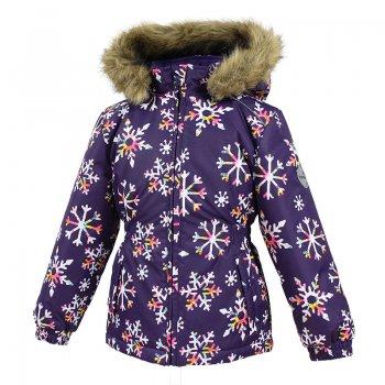 Куртка MARII (фиолетовый со снежинками)Куртки<br>; Размеры в наличии: 98, 104, 110, 116, 122, 128, 134, 140.<br>
