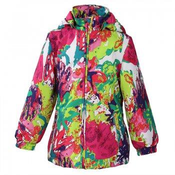 Куртка JOLY (белый с ярким принтом)Куртки<br>; Размеры в наличии: 92, 98, 104, 110, 116, 122, 128, 134, 140, 146, 152.<br>