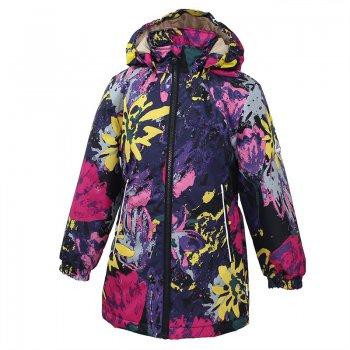 Куртка JUNE (фиолетовый с ярким принтом) от Huppa, арт: 39579 - Одежда