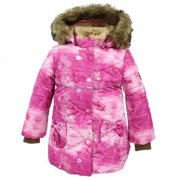 Куртка OLIVIA (фуксия с принтом) от Huppa, арт: 44452 - Одежда