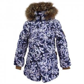 Куртка ROSA (черный с принтом)Куртки<br>; Размеры в наличии: 128, 134, 140, 146, 152, 158.<br>