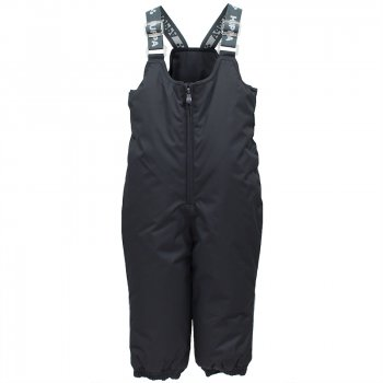 Полукомбинезон SONNY (темно-серый)Полукомбинезоны, штаны<br>Теплый зимний полукомбинезон для малышей  с утеплителем 160 грамм  на рост  от 80 до 104 см.  Модель выполнена из водонепроницаемого и дышащего материала. Внутренняя подкладка — из 100% хлопка ( фланель).  Высокая спинка полукомбинезона  защитит спину от продувания. Тканевые  штрипки и резинка на подоле полукомбинезона  надежно фиксирует штанины на обуви. <br><br> Производитель: HUPPA (Эстония).<br> Страна производства: Эстония.<br> Коллекция: Осень-Зима 2017.<br>   регулируемые лямки, подол штанин на резинке, трикотажные штрипки.  <br> Верх: 100% полиэстер.<br> Утеплитель: 160 грамм (100% полиэстер).<br> Подкладка: 100% хлопок.<br> Водонепроницаемость: 10000 мм.<br> Паропроводимость: 10000 г/м2/24ч.<br> Износостойкость: нет данных.<br><br> Температурный режим <br> от -5 до -30 градусов.; Размеры в наличии: 80, 86, 92, 98, 104.<br>