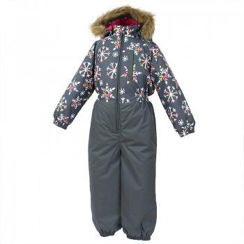 Комбинезон WILLY (серый со снежинками) от Huppa, арт: 44542 - Одежда