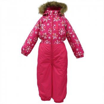 Комбинезон WILLY (фуксия со снежинками) от Huppa, арт: 44550 - Одежда