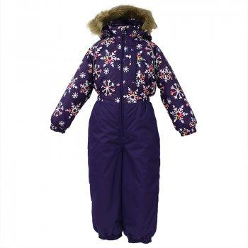 Комбинезон WILLY (фиолетовый со снежинками) от Huppa, арт: 44558 - Одежда