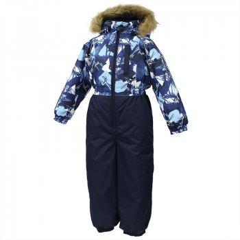 Комбинезон WILLY (темно-синий с принтом) от Huppa, арт: 44590 - Одежда