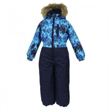Комбинезон WILLY (синий с принтом) от Huppa, арт: 44598 - Одежда