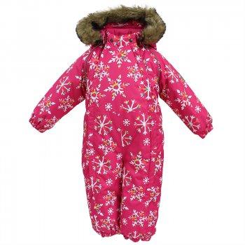 Комбинезон KEIRA (фуксия со снежинками) от Huppa, арт: 44499 - Одежда
