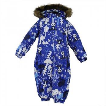Комбинезон KEIRA (голубой с принтом)Комбинезоны<br>Комбинезон KEIRA для детей ростом от 68-104 см.  <br>Важный критерий при выборе комбинезона для малыша- это количество утеплителя, ведь малыши еще малоподвижны и комбинезон должен быть теплым. В модели KEIRA  300 грамм утеплителя, которые обеспечат тепло и  комфорт ребенку при температуре от -5 до -30 градусов. Подкладка — из 100% хлопка ( фланель). Манжеты с отворотом у размеров 68-80. <br><br>    капюшон отстегивается с помощью кнопок, мех не отстегивается, манжеты на резинке, светоотражающие элементы, две длинные молнии, отвороты. <br> Верх: 100% полиэстер.<br> Утеплитель: 300 грамм (100% полиэстер).<br> Подкладка: 100% хлопок.<br> Водонепроницаемость: 5000 мм.<br> Паропроводимость: 5000 г/м2/24ч.<br> Износостойкость: нет данных.<br> Производитель: HUPPA (Эстония).<br> Страна производства: Эстония.<br> Коллекция: Осень-Зима 2017.<br><br> Температурный режим <br> от -5  до -30 градусов.<br>; Размеры в наличии: 68, 74, 80, 86, 92.<br>