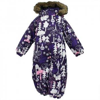 Комбинезон KEIRA (фиолетовый с принтом) от Huppa, арт: 44524 - Одежда
