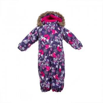 купить Huppa Комбинезон для малышей Keira (фиолетовый с животными) недорого