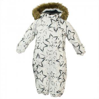 Купить Комбинезон для малышей Keira (серо-белый со звездами), Huppa