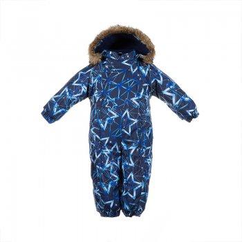 Купить Комбинезон для малышей Keira (синий со звездами), Huppa
