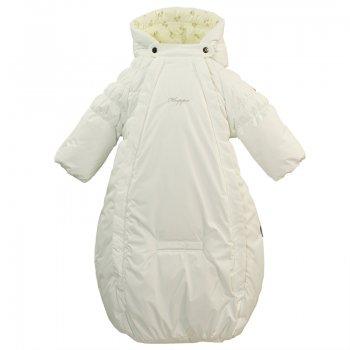 Конверт Zippy (белый)Одежда<br>капюшон не отстегивается, защитная планка молнии без застежек, манжеты на резинке, две длинные молнии, отвороты, прорезь для ремня безопасности.  <br> Верх: 100% полиэстер.<br> Утеплитель: 200 грамм (100% полиэстер).<br> Подкладка: 100% хлопок (фланель)<br> Водонепроницаемость: 5000 мм. <br> Паропроводимость: 5000 г/м2/24ч<br> Износостойкость: нет данных.<br> Производитель: HUPPA (Эстония).<br> Страна производства: Эстония.<br> Модель производится в размерах: 56-68<br> Коллекция: Весна/Лето 2018.<br><br> Температурный режим <br>  от 0 до +10 градусов<br>; Размеры в наличии: 62, 68.<br>