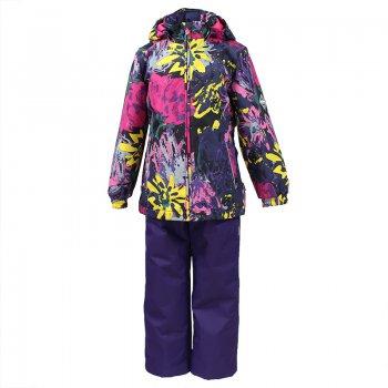 Купить со скидкой Комплект YONNE 1 (темно-фиолетовый с цветами)