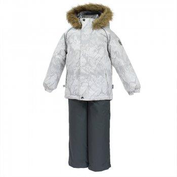 Комплект WINTER (серый с принтом) от Huppa, арт: 44697 - Одежда