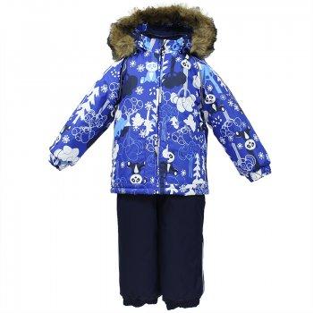 Комплект AVERY (голубой с принтом) от Huppa, арт: 44611 - Одежда