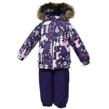 Комплект AVERY (фиолетовый с принтом) от Huppa, арт: 44616 - Одежда