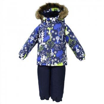 Комплект AVERY (синий с принтом) от Huppa, арт: 44621 - Одежда