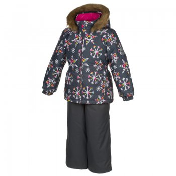 Комплект WONDER (серый со снежинками) от Huppa, арт: 44635 - Одежда