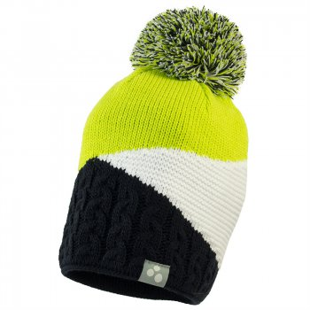 Huppa Шапка с помпоном Morley (сине-зеленая) зеленая шапка