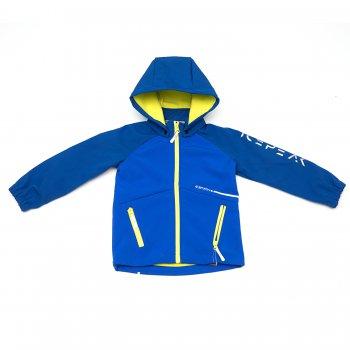 Icepeak Кофта Softshell Remy kd (синий с желтым)