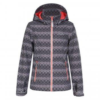 Куртка softshell Tess (серый с принтом)Куртки<br>Материал<br>Верх: 100% полиэстер<br>Утеплитель: нет<br>Подкладка: 100% полиэстер (флис)<br>Водонепроницаемость: 3000мм.<br>Паропроводимость: 3000г/м2/24ч.<br>Износостойкость: нет данных<br>Описание<br>Куртка из материала Softshell - мягкого и приятного на ощупь: снаружи мягкий, ветро и влагозащитный слой, внутри флис.<br>Функциональные элементы: капюшон отстегивается, высокий воротник, манжеты на липучке и резинке, 2 кармана на молнии, подол регулируется с помощью утяжки с фиксатором.<br>Производитель: Icepeak(Финляндия)<br>Страна производства: Китай <br>Коллекция Весна/Лето 2016<br>Модель производится в размерах 128-176<br>Температурный режим<br>от +7 до +15<br>; Размеры в наличии: 128, 140, 152, 164, 176.<br>
