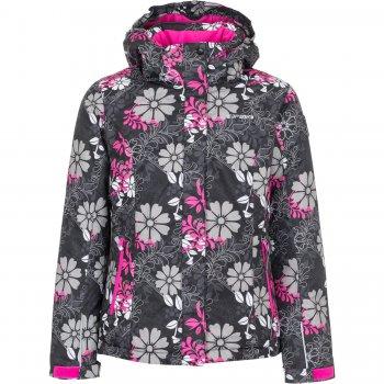 Куртка ROSIE JR (черный с цветами)Куртки<br>; Размеры в наличии: 128, 140, 152, 164, 176.<br>