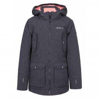 Icepeak Куртка RACHEL JR ( серый с розовым) icepeak кофта флисовая ronnie jr темно серый