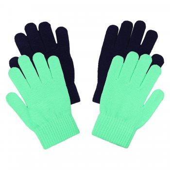 Перчатки 2 пары (синий и зеленый)Одежда<br>; Размеры в наличии: ONE.<br>