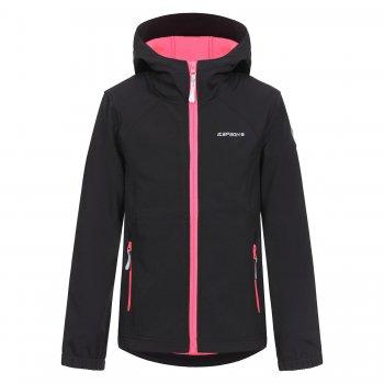 Куртка softshell Tuua JR (черный)Куртки<br>; Размеры в наличии: 128, 140, 152, 164, 176.<br>