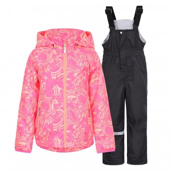 Комплект Ronna KD (розовый)Комбинезоны<br>; Размеры в наличии: 92, 98, 104, 110, 116, 122.<br>