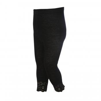 Рейтузы с кружевами (черный)Одежда<br>; Размеры в наличии: 130, 140, 150, 160, 170.<br>