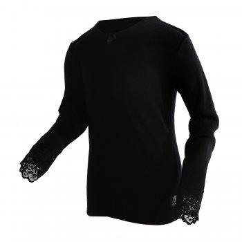 Футболка с кружевами (черный)Одежда<br>; Размеры в наличии: 130, 140, 150, 160, 170.<br>