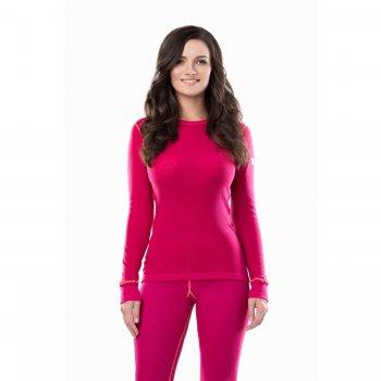 Комплект женский (малиновый)Одежда<br>Материал<br>100% шерсть<br>Описание<br>Шерсть мериносов содержит ланолин (животный воск), который обладает антибактериальными действиями и является природным антисептиком. Шерсть мериносов не вызывает аллергию, хорошо поглощает и отводит влагу от тела, эффективно согревает и оказывает положительное влияние на организм.<br>Не рекомендуется брать термобелье с большим запасом из-за снижения эффективности материалов.<br>Обратите внимание: нижнее белье, колготки и носки обмену и возврату не подлежат в соответствии в законом РФ О защите прав потребителей.<br>Производитель: Janus (Норвегия)<br>Страна производства: Норвегия<br>Модель производится в размерах S-XL<br>Коллекция: Осень/Зима 2017<br>Температурный режим: <br>От 0 до -30; Размеры в наличии: S, XL, M, L.<br>