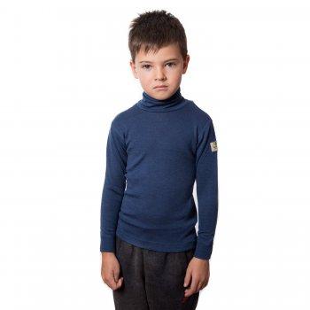 Водолазка (синий)Одежда<br>Материал<br>100% шерсть<br>Описание<br>Шерсть мериносов содержит ланолин (животный воск), который обладает антибактериальными действиями и является природным антисептиком. Шерсть мериносов не вызывает аллергию, хорошо поглощает и отводит влагу от тела, эффективно согревает и оказывает положительное влияние на организм.<br>Размер соответствует росту. Не рекомендуется брать термобелье с большим запасом из-за снижения эффективности материалов.<br>Обратите внимание: нижнее белье, колготки и носки обмену и возврату не подлежат в соответствии в законом РФ О защите прав потребителей.<br>Производитель: Janus (Норвегия)<br>Страна производства: Норвегия<br>Модель производится в размерах 90-170<br>Коллекция: Осень/Зима 2017<br>Температурный режим: <br>От 0 до -30; Размеры в наличии: 90, 100, 110, 120, 130, 140, 150, 160, 170.<br>