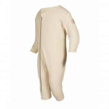 Комбинезон (белый)Одежда<br>Материал<br>100% шерсть<br>Описание<br>Шерсть мериносов содержит ланолин (животный воск), который обладает антибактериальными действиями и является природным антисептиком. Шерсть мериносов не вызывает аллергию, хорошо поглощает и отводит влагу от тела, эффективно согревает и оказывает положительное влияние на организм.<br>Размер соответствует росту. Не рекомендуется брать термобелье с большим запасом из-за снижения эффективности материалов.<br>Обратите внимание: нижнее белье, колготки и носки обмену и возврату не подлежат в соответствии в законом РФ О защите прав потребителей.<br>Производитель: Janus (Норвегия)<br>Страна производства: Норвегия<br>Модель производится в размерах 60-90<br>Коллекция: Осень/Зима 2017<br>Температурный режим: <br>От 0 до -30; Размеры в наличии: 60, 70, 80, 90.<br>
