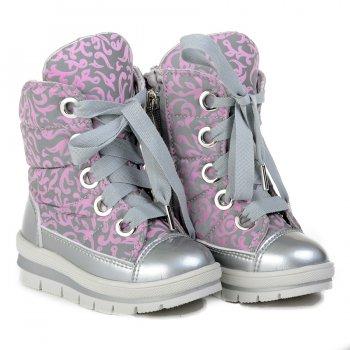 Ботинки (розовый рефлекс) от Jog Dog, арт: 46541