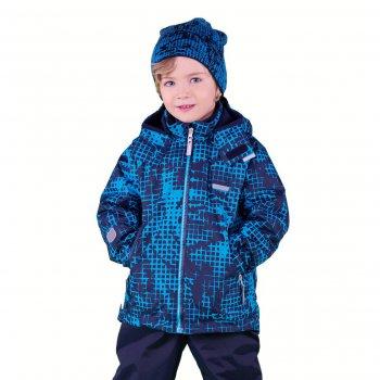 Куртка  MARK (синий)Куртки<br>Материал<br>Верх: 100% полиэстер<br>Подкладка: 100% полиэстер (флис)<br>Утеплитель:  80 грамм (100% полиэстер)<br>Водонепроницаемость: 5000 мм<br>Паропроводимость: 5000 г/м2/24ч<br>Описание<br> Утепленная куртка на межсезонье для мальчиков от 2 до 9 лет от известной финской фирмы Kerry.  80 грамм утеплителя обеспечат комфорт при температуре 0...+10 градусов. Прямой крой не сковывает движений.  Водонепроницаемость 5000 мм позволяет гулять в дождливую погоду, а специальная пропитка позволяет легко удалять небольшие загрязнения влажной тряпочкой. Флисовая подкладка обеспечит дополнительные тепло и комфорт. Данная модель идет в размер.<br>Функциональные элементы: капюшон отстегивается с помощью кнопок, защита подбородка от защемления, карманы на молнии, манжеты на резинке и липучке, утяжка по подолу, светоотражающие элементы. <br>Производитель: Kerry (Финляндия)<br>Страна производства: Евросоюз (основная часть коллекции производится в Эстонии)<br>Коллекция: Весна/Лето 2017<br>Модель производится в размерах: 92-134<br>От 0 градусов и выше; Размеры в наличии: 98, 104, 110, 116, 122, 128, 134.<br>
