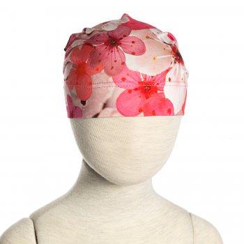 Шапка TAMMY (розовые цветы)Одежда<br>; Размеры в наличии: 46, 48, 50, 52, 54, 56.<br>